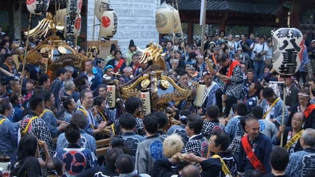 Annual Festival of Nezu Shrine