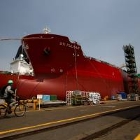 Japanese shipbuilders seek to regain edge lost to China, South Korea