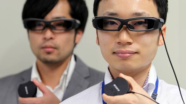 Sony unveils SmartEyeglass device, looking to take on Google Glass