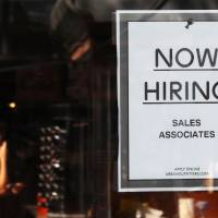 U.S. job growth drops to 142,000, slowest in eight months