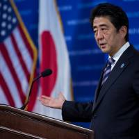 Abe says reactors won't be rebooted unless safety is '100% restored'