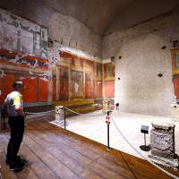 Emperor Augustus frescoes opened to public for first time in Rome