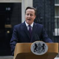 Cameron says Scottish independence issue settled 'for a generation'