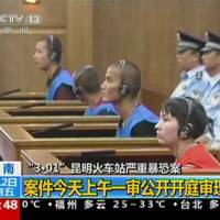 Three get death sentence for China train station attack
