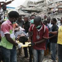 Nigerian preacher suggests sabotage over deadly building collapse