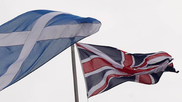Future of iconic Union Jack flag in question as voters in Scotland head to the polls