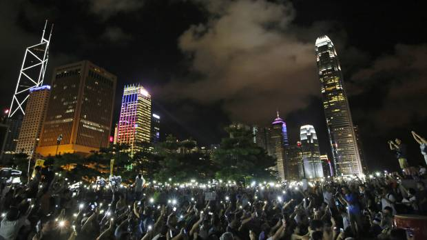 Hong Kong braces for protests as China rules out full democracy
