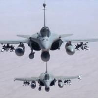 France joins U.S. in strikes against the Islamic State group in Iraq