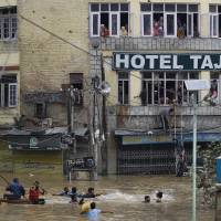 India's Srinagar submerged as floods 'take out' city