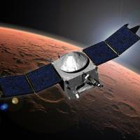U.S. spacecraft enters Mars orbit, India probe next up