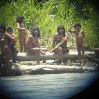 Isolated tribe risks human contact