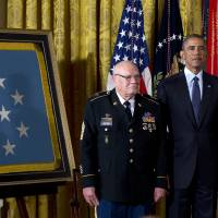 U.S. Vietnam War soldiers receive Medal of Honor
