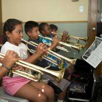 Playing music helps sharpen kids' brains, study says