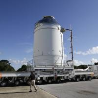 NASA prepares Orion capsule for debut deep-space test flight