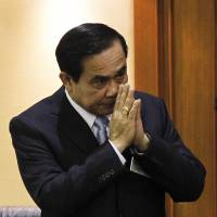 New Thai PM uses holy water, feng shui to ward off occult