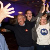 Scots reject independence, vote to stay in the United Kingdom
