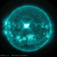 Solar storm arrives at Earth, but is not a problem