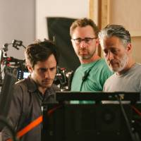 U.S. comedian Jon Stewart's first film is no joke