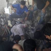 Syria airstrikes on jihadist stronghold kill 53, mostly civilians: NGO
