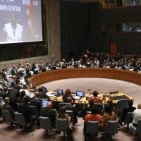 Security Council resolution: Ebola threatens world peace