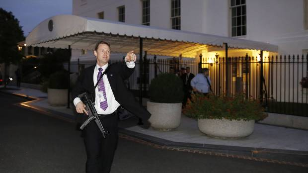 White House fence-jumper made it to the front doors