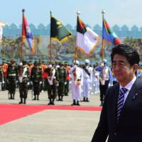 Abe steals a march on China with South Asia tour