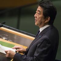 Abe pledges $50 million in humanitarian aid to stem Islamic State crisis