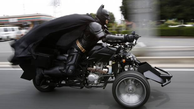 Chibatman forever: Dark Knight cosplayer makes social media smile