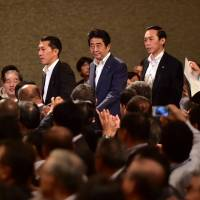 Abe wants earlier talks on decision to hike sales tax to 10%