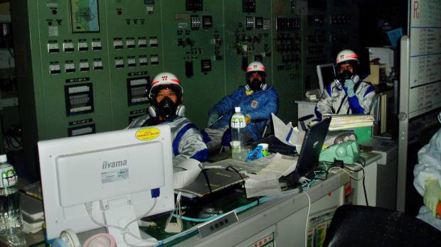 Workers grappled with darkness at start of Fukushima nuclear crisis