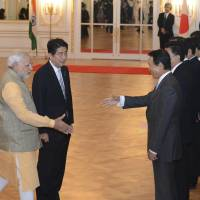Abe, India's Modi agree to boost security, economic ties amid China's increasing territorial ambitions