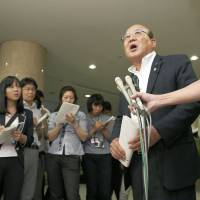 Tokyo assemblyman leading gender equality panel apologizes for sexist remark