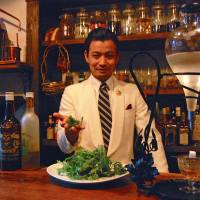 Green fairy leads to Tokyo absinthe bar
