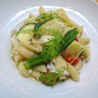 Light lunch: A healthy summer pasta at Faro Slow Time. | ROBBIE SWINNERTON