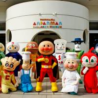 For toddlers, Anpanman doesn't have a use-by date