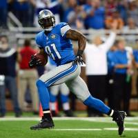 Stafford, Johnson leads Lions in rout of Giants