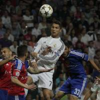 Ronaldo, Madrid begin Champions League in style