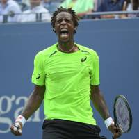 Monfils storms into U.S. Open quarters