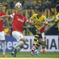 Kagawa enjoys happy return