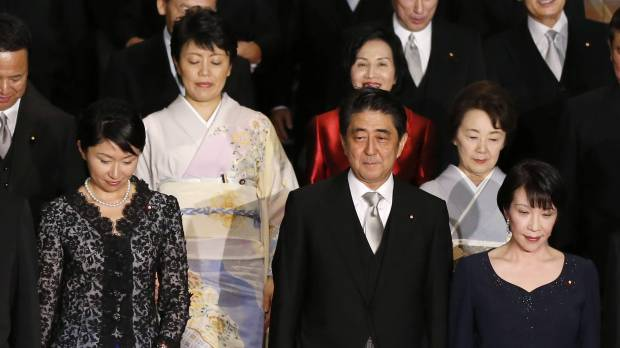 Abe's female Cabinet picks warrant a closer look