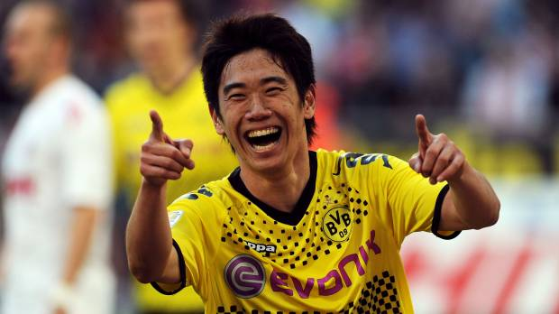 Kagawa returning to Borussia Dortmund