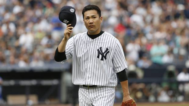 Tanaka wins in return from elbow injury