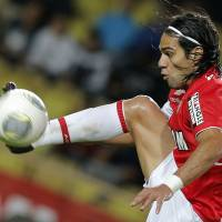 Attacking riches: Colombian striker Radamel Falcao was set for a surprise loan move to Manchester United from Monaco on the final day of the European transfer window on Monday. | AP