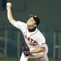 Sawamura, bullpen blank Carp as Giants wrap up three-game sweep