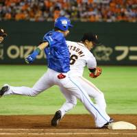 Utsumi blanks BayStars as Giants widen lead
