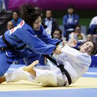 Judoka Nakamura collects Japan's first gold medal at Asian Games