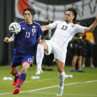 Uruguay spoils Aguirre's debut with Japan