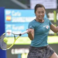 Nara, Date-Krumm eliminated in first round at Pan Pacific Open