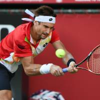 Former champ Ferrer falls in Japan Open first round