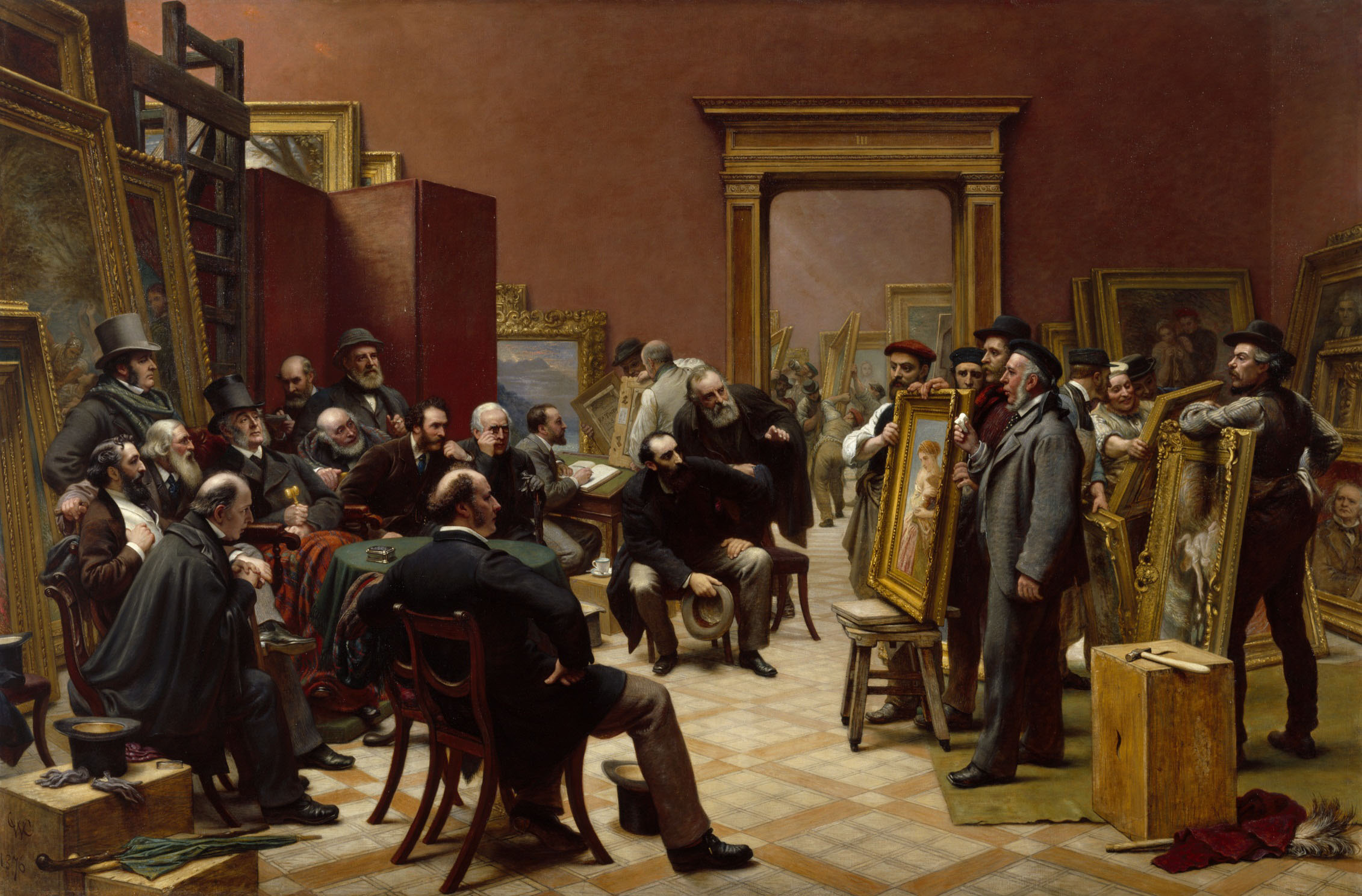 Art history news genius and ambition the royal academy for Salons de paris